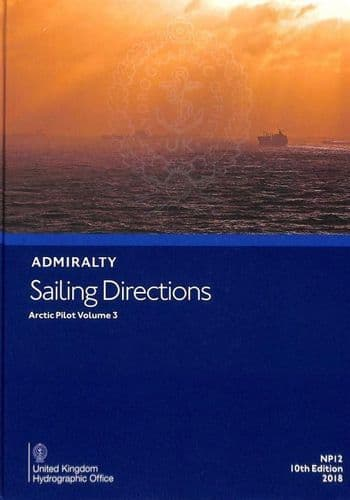 NP12 - Admiralty Sailing Directions: Artic Pilot Volume 3 ( 10th Edition)